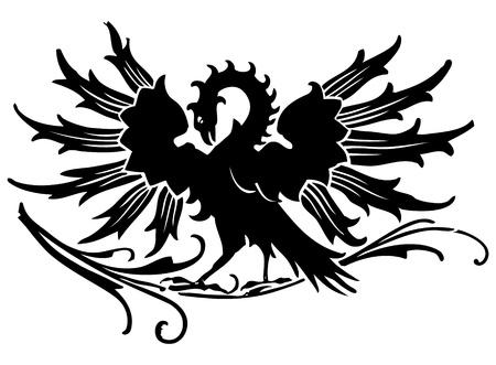 keltische muster: Mittelalterlicher Adler