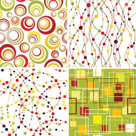 lineas verticales: Conjunto de antecedentes sin fisuras geometic.