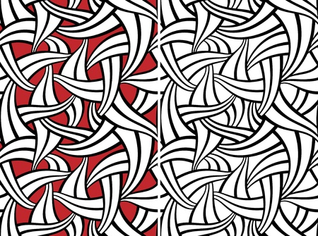swatch: Abstract seamless pattern Illustration