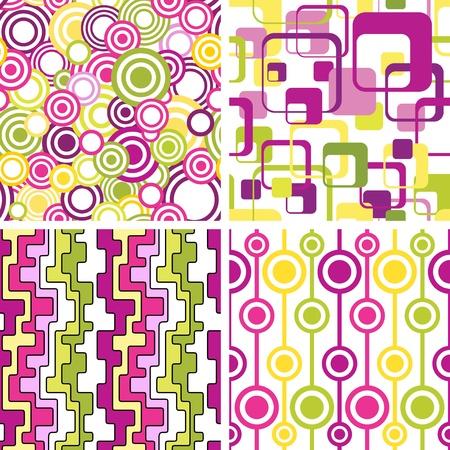 manic: Serie di eleganti ambienti senza soluzione di continuit� geometical