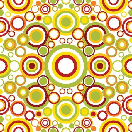 manic: Luminoso ornamento geometrico con cerchi