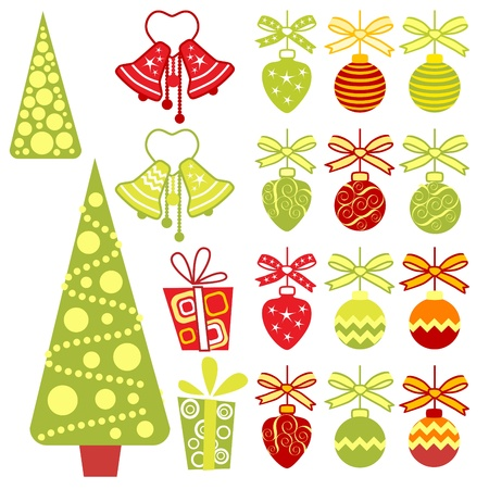 Christmas-tree decoration ��� Vector