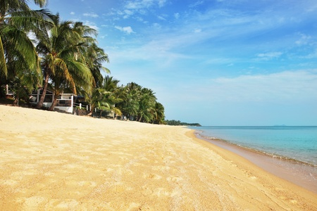koh: Beautiful tropical beach in Koh Samui, Thailand