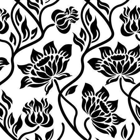 Floral seamless pattern Stock Vector - 11651677