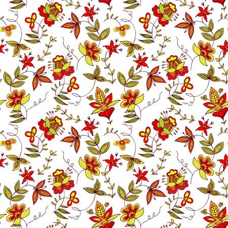 Seamless pattern, piacevole per gli sfondi, carta da parati, carta involucro o campione di tessuto Vettoriali