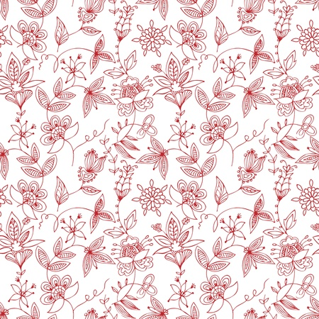 Floral seamless pattern Stock Vector - 11651698