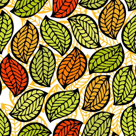 foliage seamless pattern Stock Vector - 11651687
