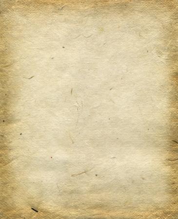 Handmade Reispapier Textur Standard-Bild