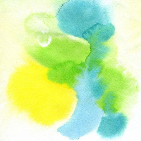hand made: Abstract watercolor hand painted background