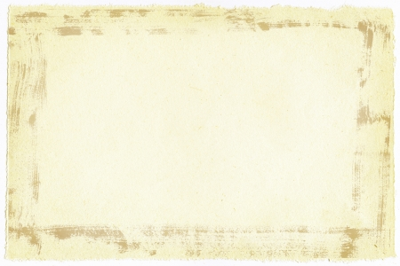ardboard: Old paper background with ragged edges with gruge frame