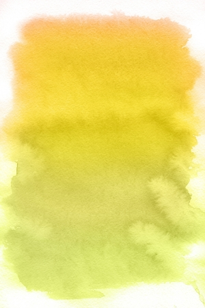 multilayer: Yellow spot, watercolor abstract hand painted background