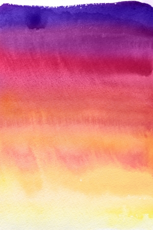 Abstract watercolor hand painted background Imagens - 14133605