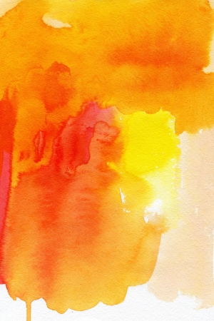 colour intensity: Abstract watercolor hand painted background