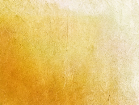 Handmade gold rice paper texture  Stock Photo