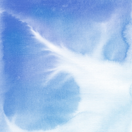 Abstract watercolor hand painted background Stock Photo - 15412423