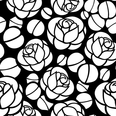 Floral seamless ornament, nice for wallpaper, wrapper paper or fabric swatch Ilustração