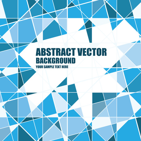 urban sprawl: Vector abstract background