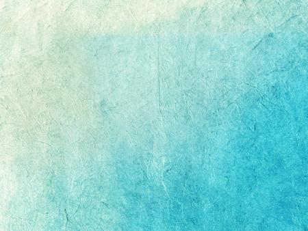 papel de notas: Hecho a mano arroz azul textura de papel