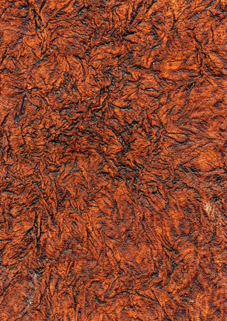 wrinkled paper: Old brown wrinkled Paper