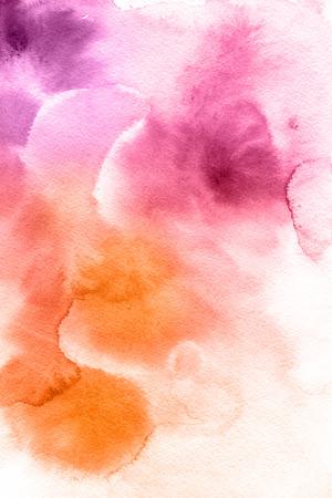aquarelle: Arrière-plan de peints à la main aquarelle abstraite