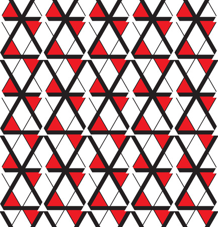 Seamless pattern. Repeating abstract background with triangles.