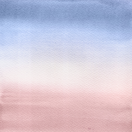 tint: Abstract Watercolor Hand Painted Background. Serenity and Rose Quartz Tint Watercolour Texture Gradient. Pastel Colored Palette.