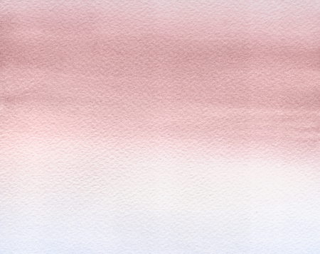 Abstract Watercolor Hand Painted Background. Rose Quartz Tint Watercolour Texture Gradient. Pastel Colored Palette.