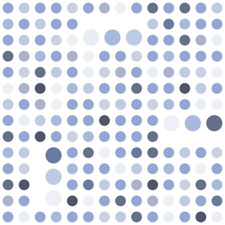 tint: Polka dot seamless background. Abstract geometric pattern. Serenity tint ornamental texture. Illustration