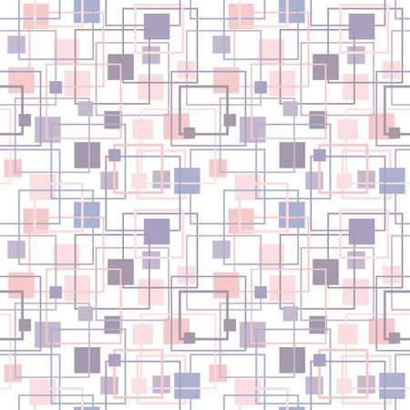 tint: Abstract geometric pattern in lilac and rose colors. Serenity and Rose Quartz Tint seamless Texture. Pastel Colored Background