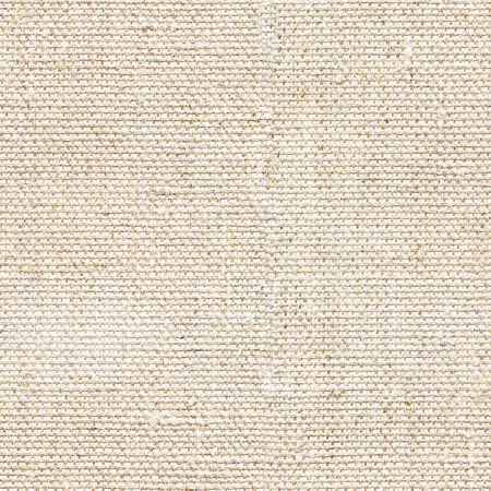 Seamless beige canvas textile background. Endless fabric pattern. The high resolution blank texture.
