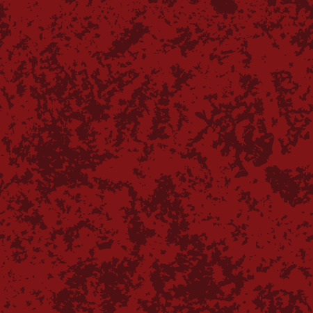 Abstract distressed texture, grunge background. Vector seamless pattern in red colors Ilustração