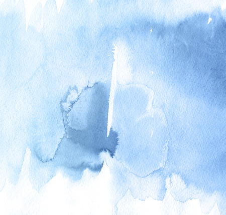 Abstract watercolor hand painted background. Riverside blue tint Tint Watercolour Texture. Pastel Colored Palette.