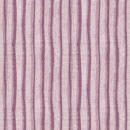 Seamless monochrome canvas paper background. Endless fabric pattern. Striped texture in purple color.
