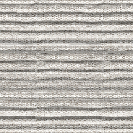 Seamless monochrome canvas paper background. Endless fabric pattern. Striped texture.