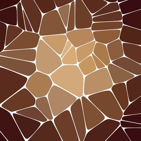 Abstract vector image. brown pebbles - Vektorgrafik. eps 10