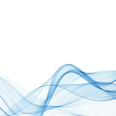 Abstract vector blue wave background. layout for advertising. eps 10 Vetores
