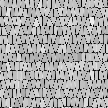 gray pebbles. geometric illustration. polygonal style, mosaic background. eps 10