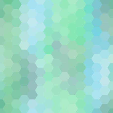 fondo azul del hexágono. ilustración vectorial. imagen abstracta. estilo poligonal. eps 10 Ilustración de vector