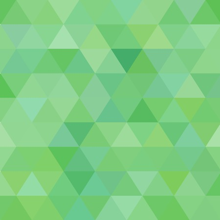 Light Green vector abstract mosaic template. A vague abstract illustration with gradient.