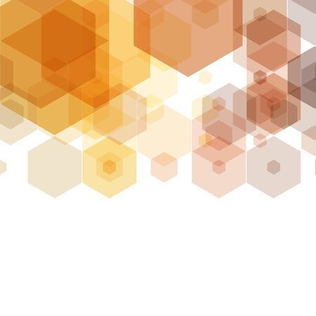 Honeycomb inspired Abstract geometric Background. Hexagons and triangles. Vector regular Texture 向量圖像