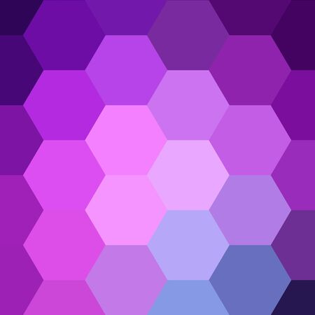 Polygonal style. colorful hexagons. vector abstract illustration. eps 10