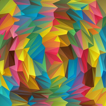 colored triangles design . Abstract vector background. eps 10 Vecteurs