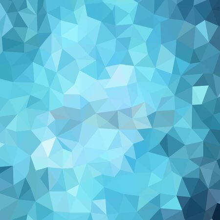 light blue polygonal illustration, which consist of triangles. Geometric background in Origami style with gradient. Triangular design for your business. Ilustración de vector