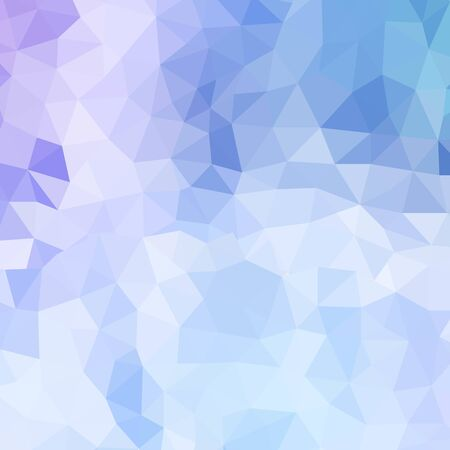 Blue polygonal illustration, which consist of triangles. Geometric background in Origami style with gradient. Triangular design for your business. Vector Illustratie