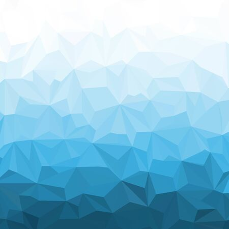 blue triangles background. polygonal style