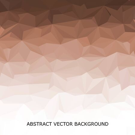 Abstract triangular background. Science background vector. Presentation Template Stock Photo