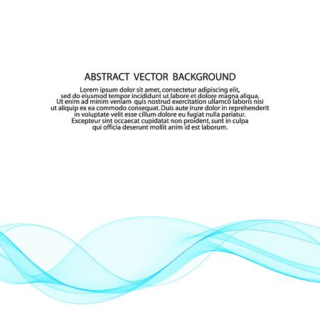 blue abstract lines. layout for presentation