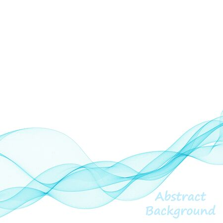 abstract vector background. colorful wave
