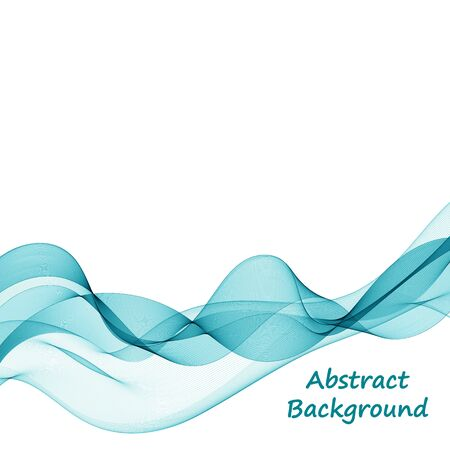 blue abstract background. curve wave.