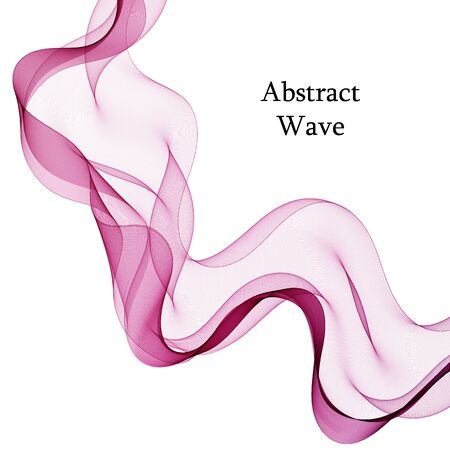 purple wave. abstract background advertising layout
